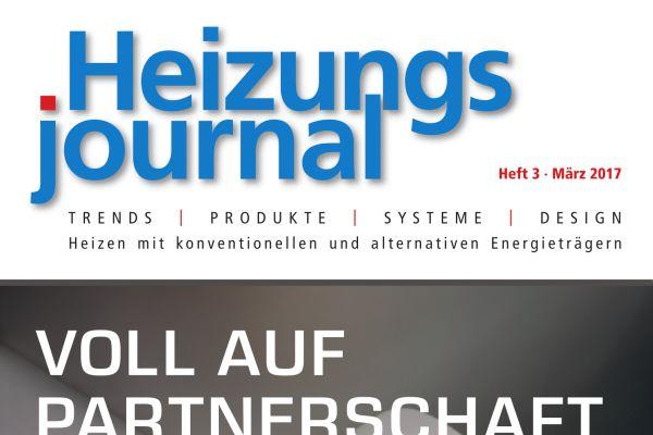HeizungsJournal - Heft 3, März 2017 HeizungsJournal - Heft 3/2017
