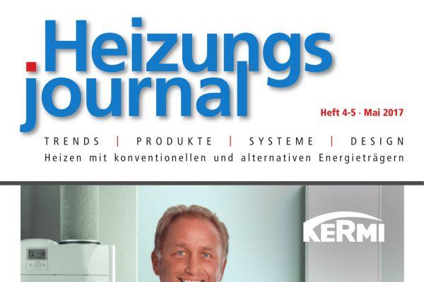 HeizungsJournal - Heft 4-5, Mai 2017 HeizungsJournal - Heft 4-5/2017