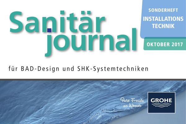 Sonderheft Installationstechnik Sanitär 2017 Sonderheft Sanitär 2017