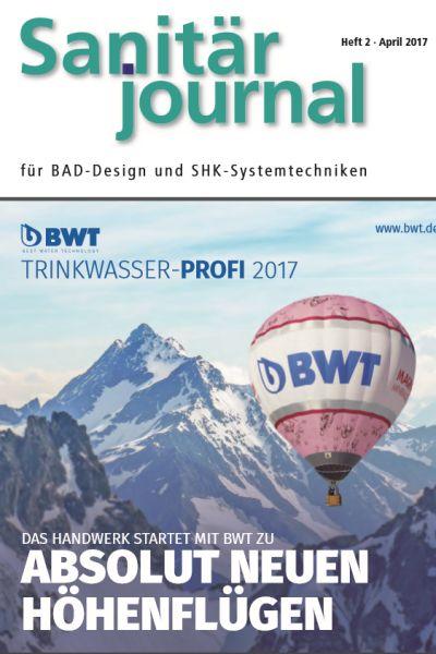 SanitärJournal - Heft 2, April 2017 SanitärJournal - Heft 2/2017
