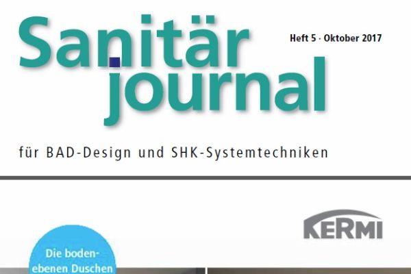 SanitärJournal - Heft 5, Oktober 2017 SanitärJournal - Heft 5/2017