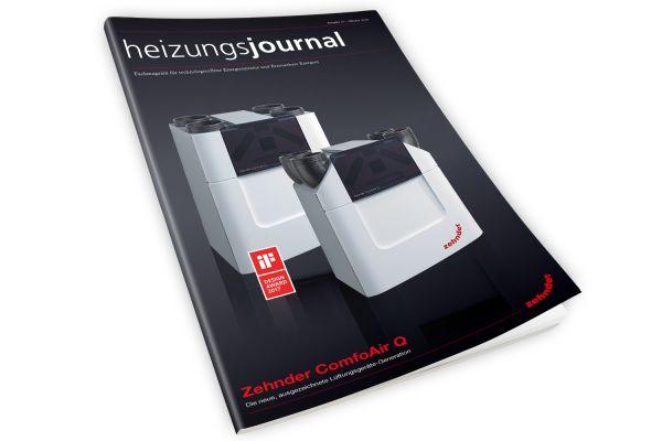 HeizungsJournal - Heft 10, Oktober 2018 HeizungsJournal - Heft 10/2018