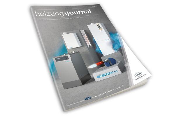 HeizungsJournal - Heft 1-2, Februar 2019 HeizungsJournal - Heft 1-2/2019