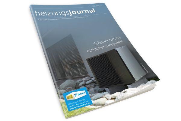 HeizungsJournal - Heft 10, Oktober 2019 HeizungsJournal - Heft 10/2019
