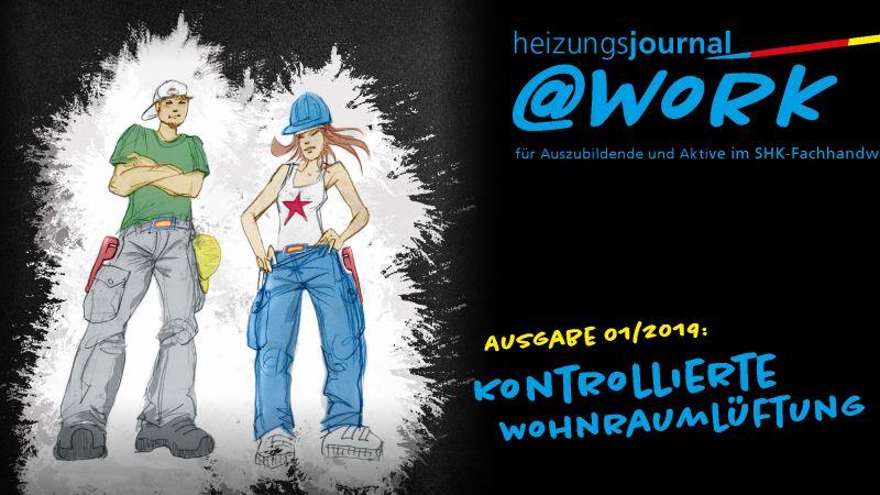 """@work - Thema """"Kontrollierte Wohnraumlüftung (KWL)"""""""