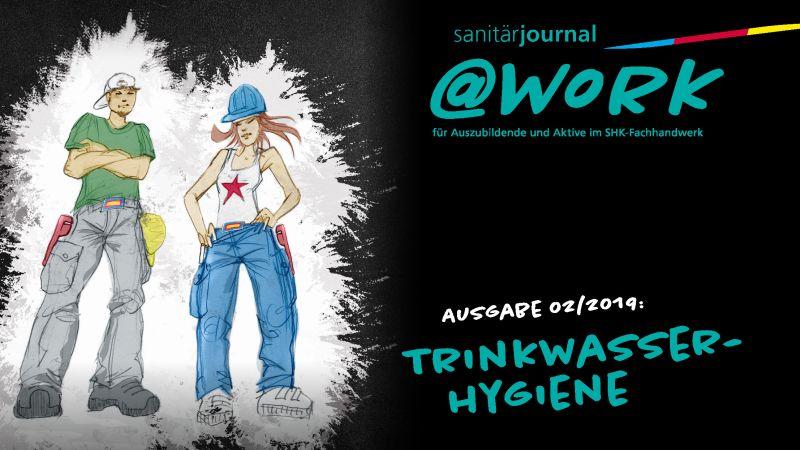 """@work - Thema """"Trinkwasser-Hygiene"""""""