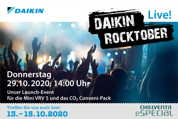 Daikin Rocktober – Das virtuelle Launch-Event