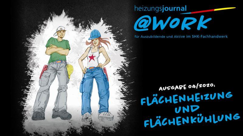 """@work - Thema """"Flächenheizung und Flächenkühlung"""""""