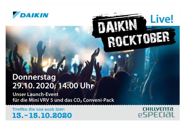 Daikin Oktober-Online-Events – jetzt anmelden