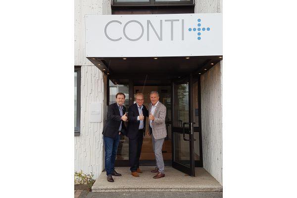 Neuer Sales Manager für CONTI+
