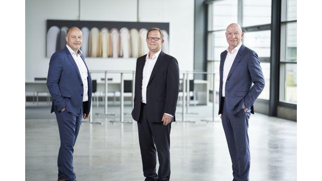 Das Bild zeigt v.l.n.r.: Matthias Dornbracht, Stefan Gesing, Andreas Dornbracht.