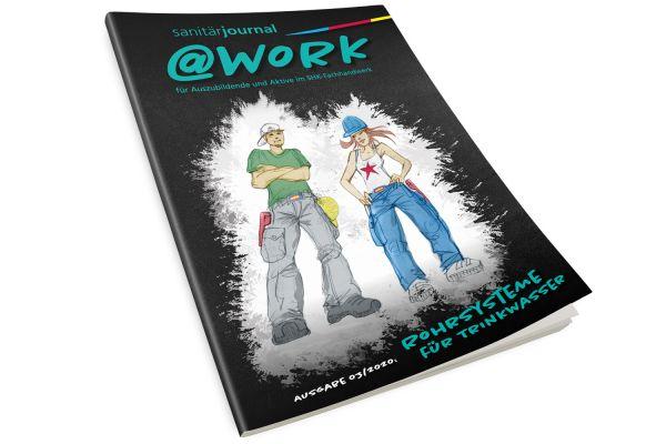 """@work - Thema """"Rohrsysteme für Trinkwasser"""" @work - 3/2020"""