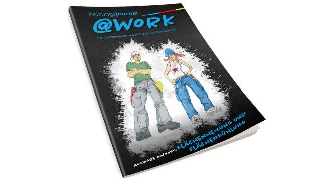 Cover der @work 4/2020.