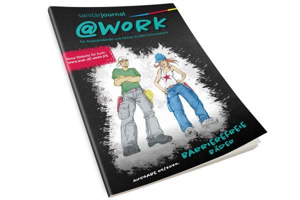 """@work - Thema """"Barrierefreie Bäder"""" @work 5/2020"""