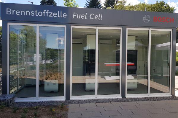 Brennstoffzellen-Pilotanlage von Bosch am Standort Wernau (Neckar).