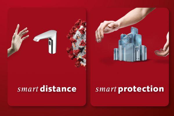 Berührungslose elektronische Armaturen: Lösung für Infektionsschutz und Gebäudestillstand