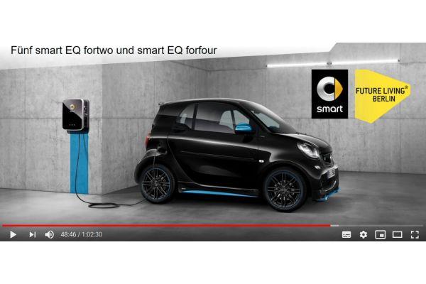 """PV-Strom für das Carsharing mit """"Smarts""""."""