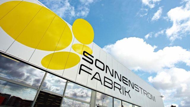 Das PV-Modulwerk von Sonnenstromfabrik in Wismar.