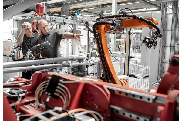 Ein Blick in die Produktion am Standort Brilon.