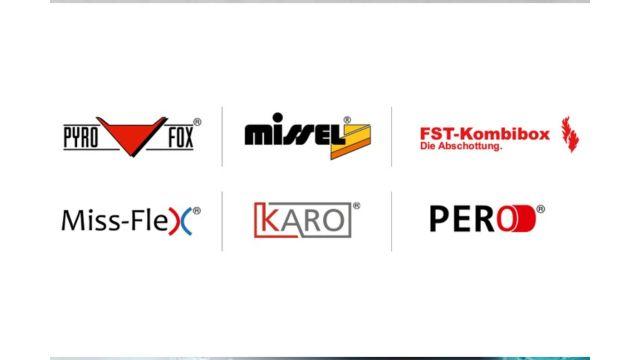 Das Bild zeigt die gesamten Produktmarken.