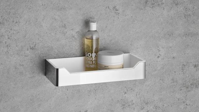 """Das Bild zeigt den Duschkorb """"Atelier"""" von HSK."""