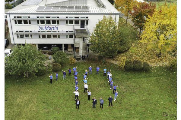 Lüftungsunternehmen bluMartin: 10 Jahre im Aufwind