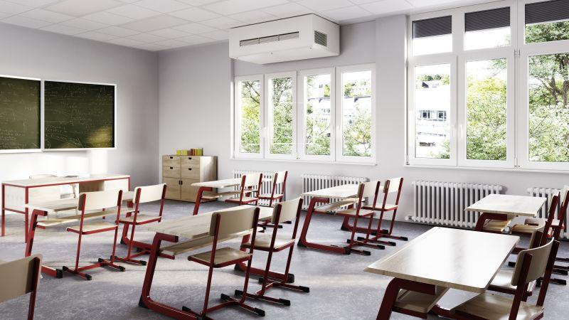 Klassenräume ohne Lüftung sind nicht akzeptabel