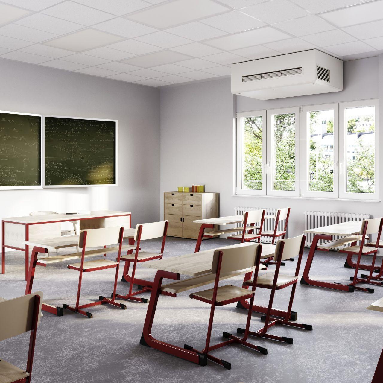 COVID-19: Warum ein Klassenraum ohne Lüftungsanlage nicht akzeptabel ist