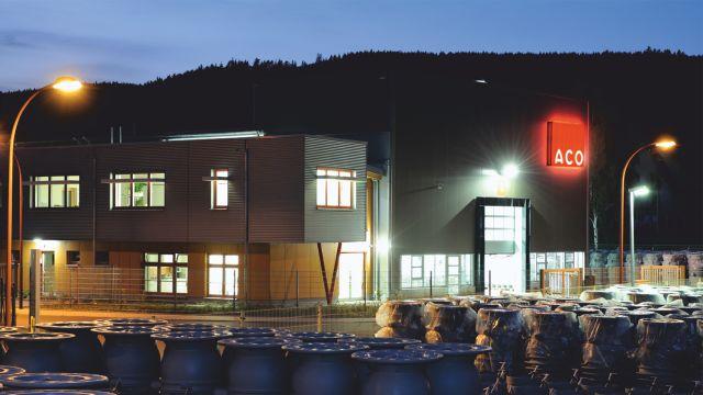 Das Bild zeigt den Firmensitz der ACO Passavant GmbH.