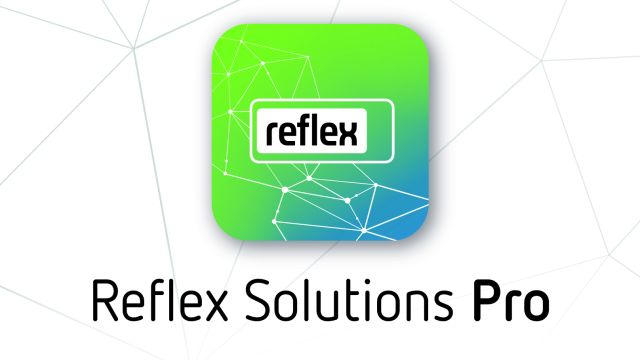 Logo der Software Reflex Solutions Pro.