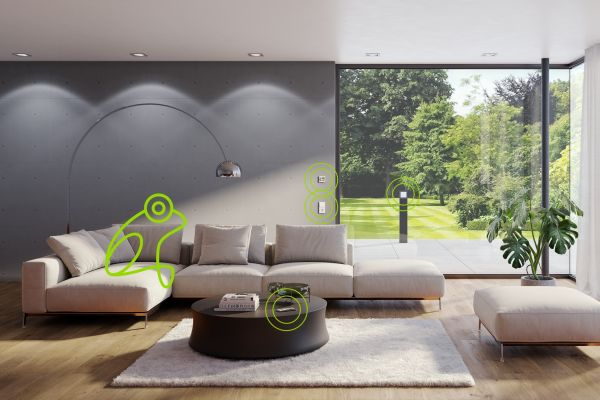 Smarte Gebäude – Revolutionär einfach, drahtlos und sicher