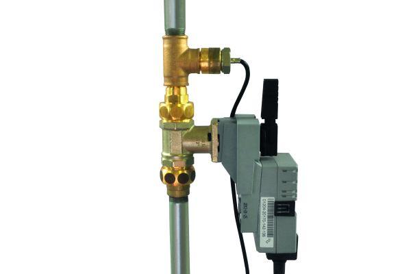 """Bild 2: Das """"PAUL""""-Konzept (Permanent Analytic Use Log) basiert auf dem Einbau motorgesteuerter Kugelventile mit Messsonden für Temperatur, Durchfluss und Differenzdruck."""