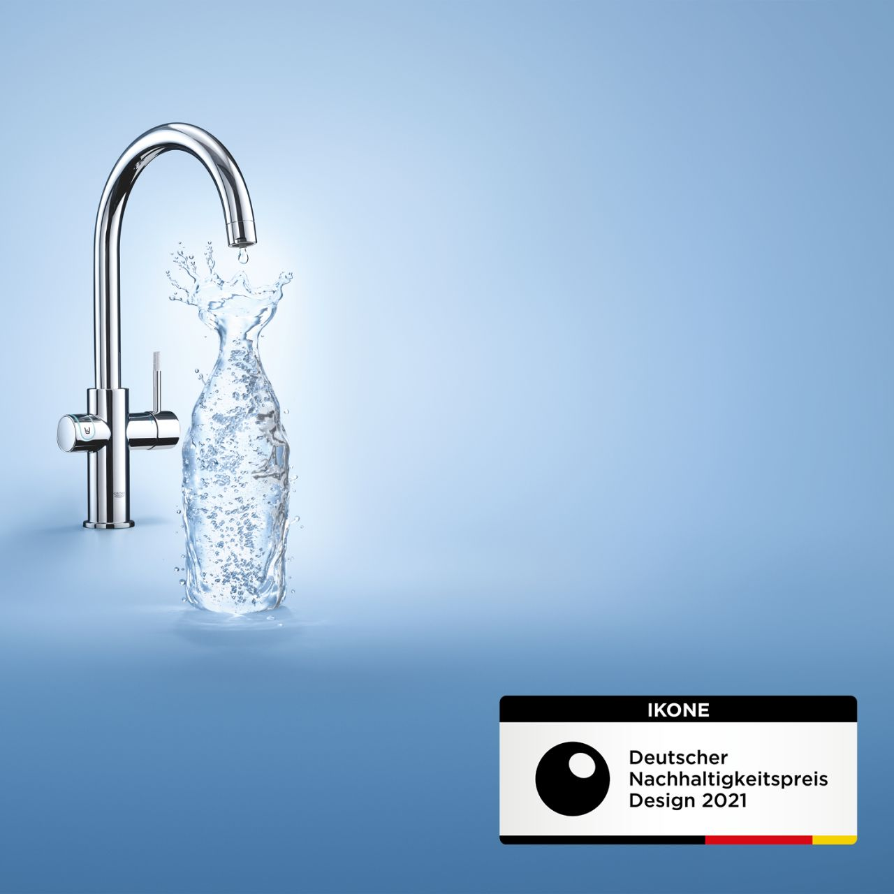 """""""Grohe Blue"""" gewinnt Nachhaltigkeitspreis Design 2021"""
