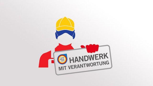 Das Bild zeigt eine Handwerker-Grafik des ZVSHK.