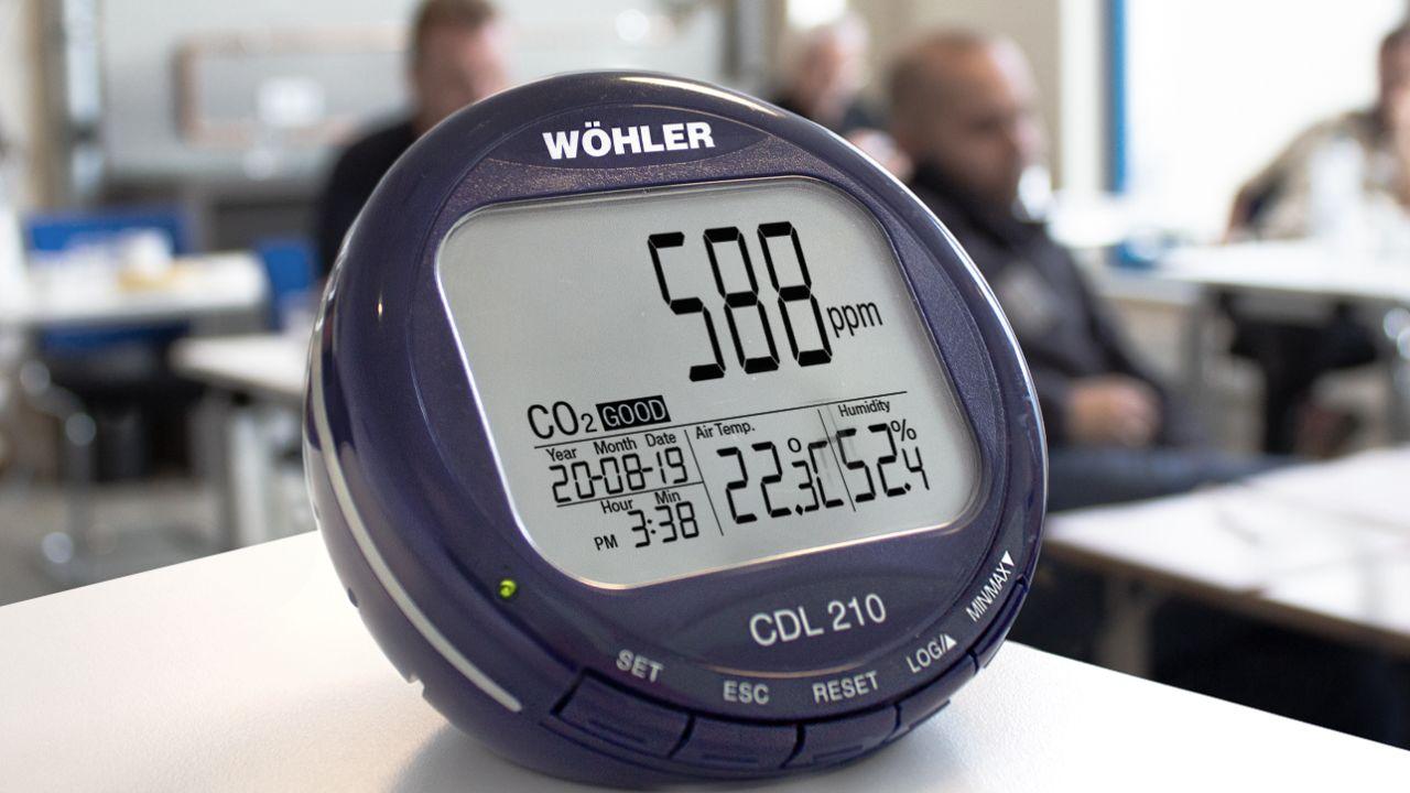 Luftqualität in Innenräumen überwachen