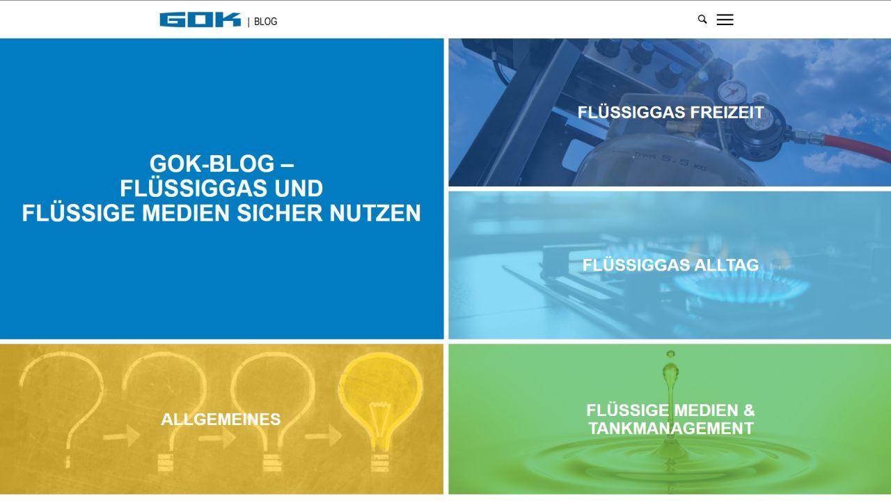 Wissensplattform zu Flüssiggas im neuen Look