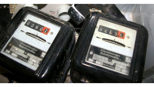 Eigentlich an- und ausgezählt – die analogen Stromzähler…