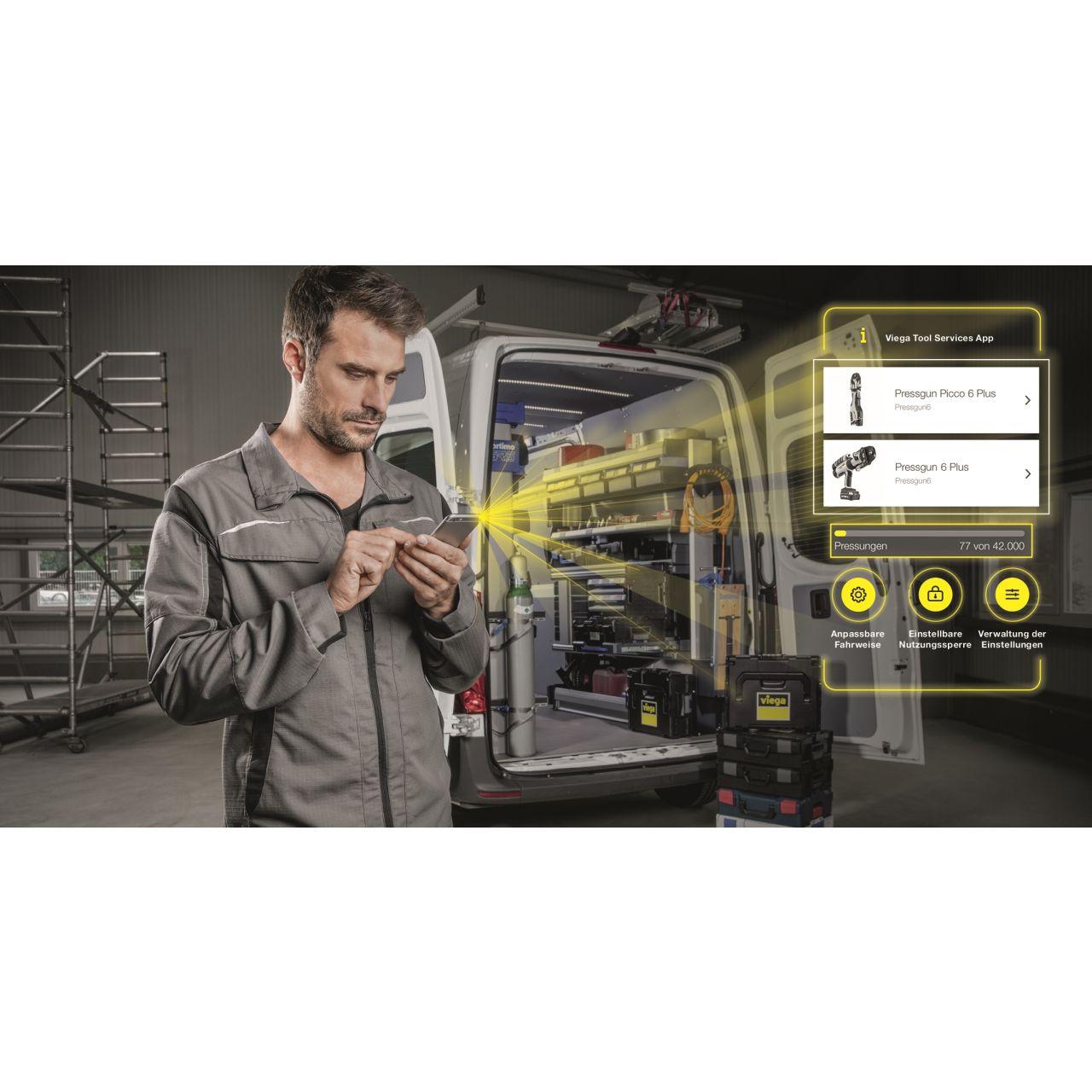 Digitaler Helfer für Werkzeugverwaltung und -einsatz