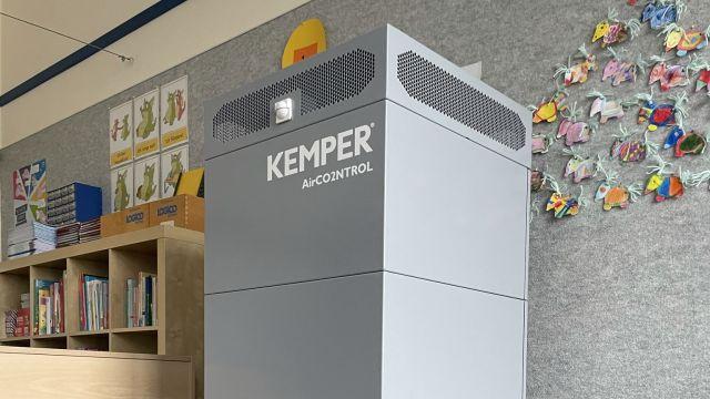 Das Bild zeigt den Kemper-Luftreiniger