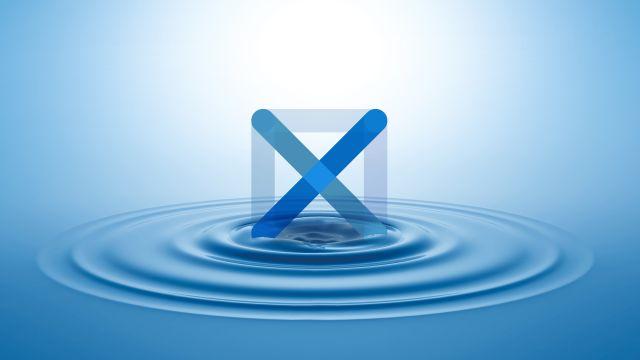 """Das Bild zeigt das Logo von """"GROHE X""""."""