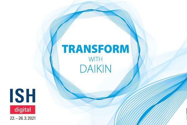 ISH digital: Daikin als Sponsor mit von der Partie