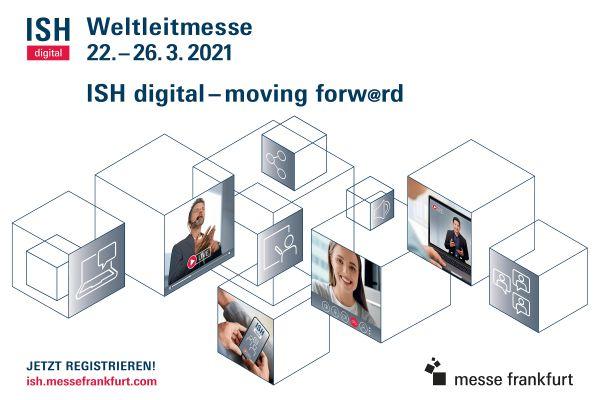 Die ISH digital 2021 setzt Impulse Top-Themen: Hygienewelle im Bad und Trends in der Trinkwassertechnik