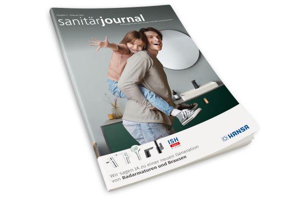 SanitärJournal - Heft 1, Februar 2021 SanitärJournal - Heft 1/2021