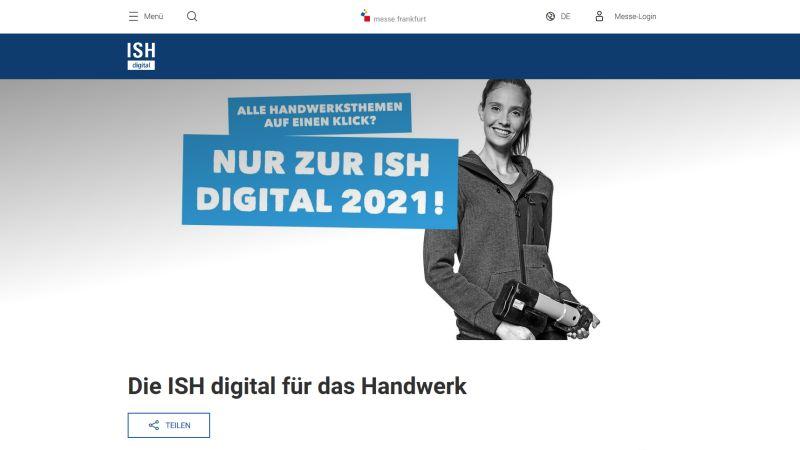 ISH digital will neue Benchmarks setzen