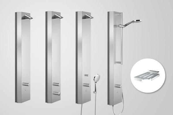 Hygienegerechte Aufputz-Lösung von Schell