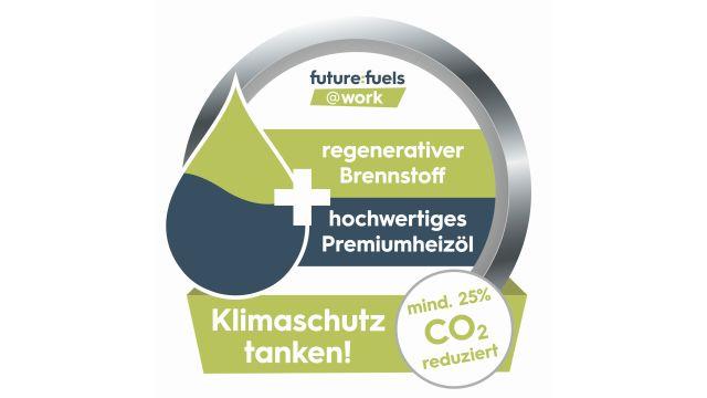 """Das Bild zeigt den Flyer zur Pilotinitiative """"future:fuels@work."""