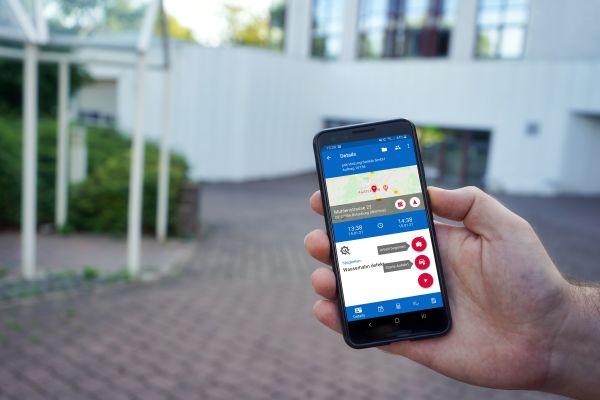 App für Service und Kundendienst