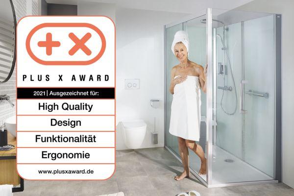 Roth-Dusche erhält Plus X Award