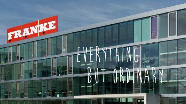 Das Bild zeigt den Franke-Konzern.