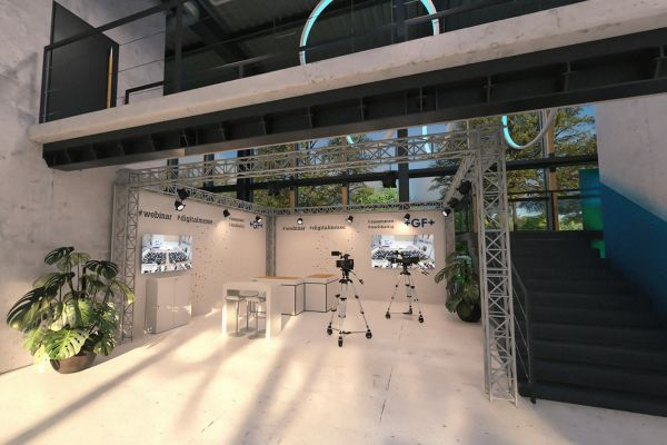 ISH digital: Rohrleitungssysteme im GF-Messeformat